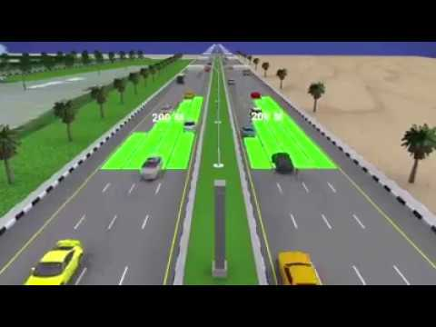 Digital Traffic Control system in Dubai 2017|Traffic police