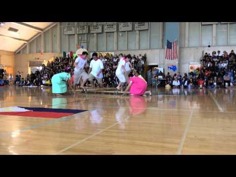 Filipino club- Tinikling dance 2015 (Tennyson High School ...