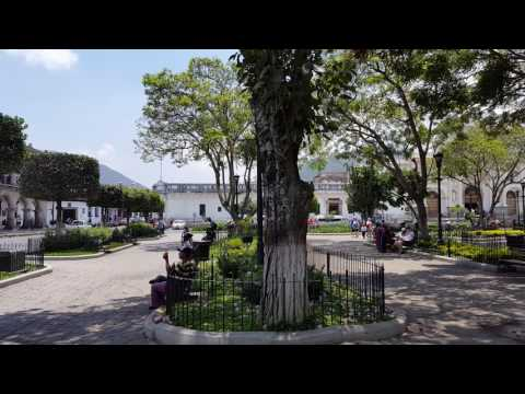 Antigua, Guatemala's Central Square