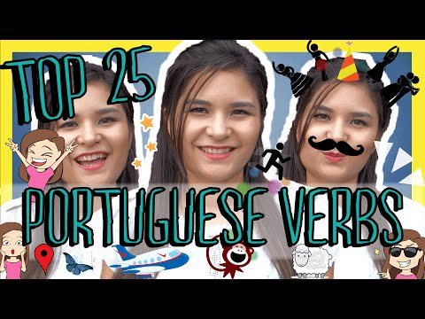 Learn the Top 25 Must-Know Brazilian Portuguese Verbs