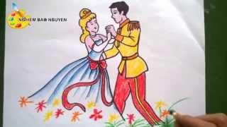 Vẽ Công chúa và Hoàng tử/How to Draw Princess and Prince