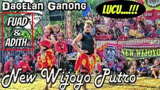 Dagelan LUCU & Kocak  Ganong CICILALANG feat New Wijoyo Putro Live Winong Nganjuk