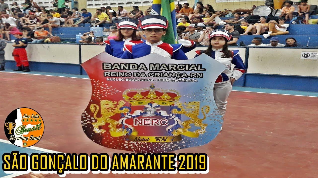 BANDA MARCIAL REINO DA CRIANÇA 2019 - SÃO GONÇALO DO AMARANTE 2019 CONCURSO INTERESTADUAL DE BANDAS
