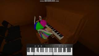 Sechs Füße unter | Billie Eilish (FULL)(ROBLOX PIANO)(SHEETS IN DESCRIPTION)
