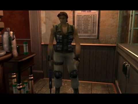 Resident Evil 3 Nemesis Cutscenes Meeting Carlos Hide Inside The