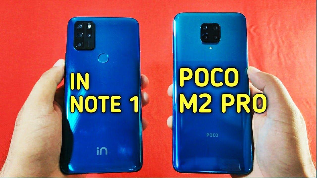 Micromax IN NOTE 1 vs Poco M2 Pro Speed Test & Camera Comparison | 🔥🔥