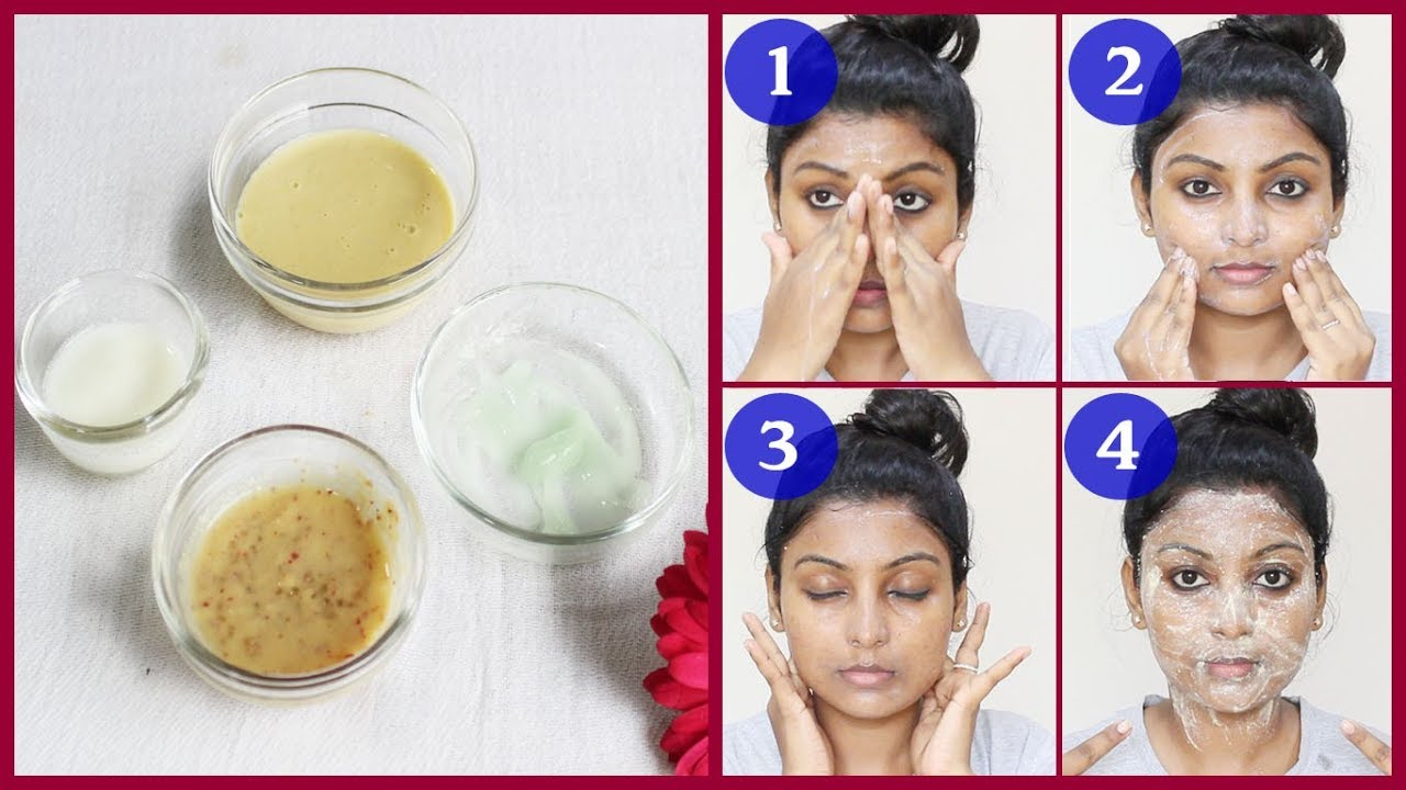 Fruit facial at home step by step Get instant whitening face 10% natural   Tamil Beauty tips