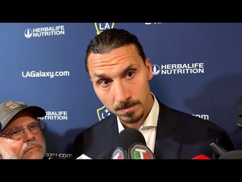 Zlatan Ibrahimovic Reacts To LA Galaxy Draw In The MLS