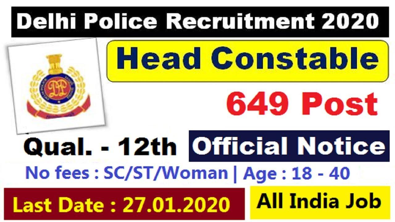Image result for Delhi Police 649 Head Constable