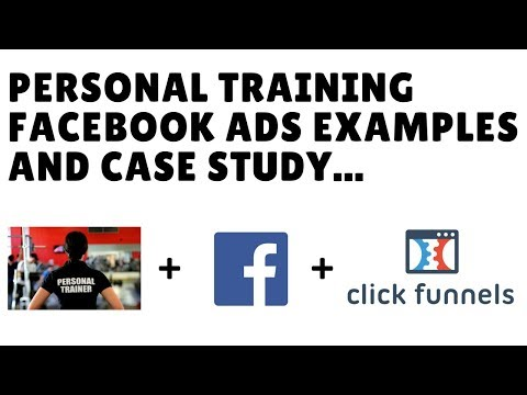 Personal Trainer Facebook Ads Examples, Case Study + Free ClickFunnels Marketing Funnel Template