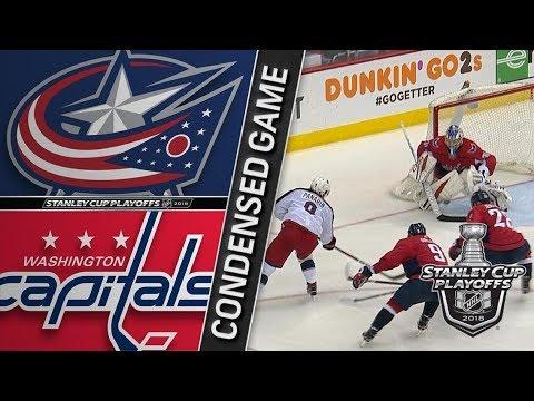 Columbus Blue Jackets vs Washington Capitals R1, Gm1 apr 12, 2018 HIGHLIGHTS HD