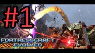 FortressCraft Evolved прохождение #1  [Гнусавый Let's Play] - Медь, олово и уголь