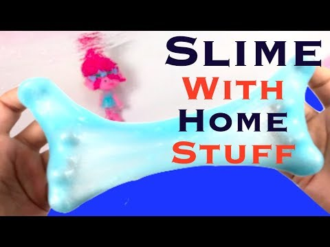 How To Make Slime With Home Ingredients✨ Easy DIY No Borax Slimes