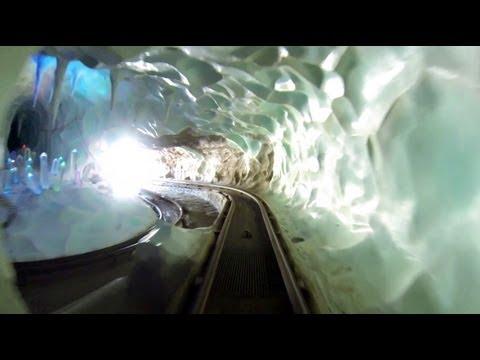 Matterhorn Bobsleds HD POV Disneyland Roller Coaster 2013 Both Sides Anaheim California