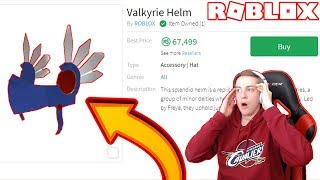 I BOUGHT THE VALKYRIE HELM?! (ROBLOX)