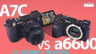 소니 A7C vs a6600 미러리스 카메라 화질 비교…