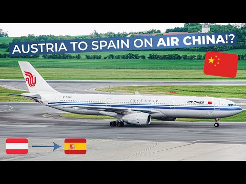 TRIPREPORT | Air China (Economy) | Vienna - Barcelona | Airbus A330-300