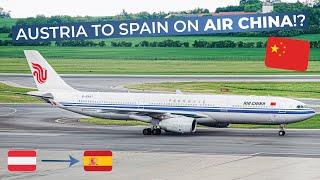 TRIPREPORT   Air China (Economy)   Vienna - Barcelona   Airbus A330-300