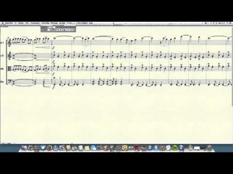 Sia - Chandelier for string quartet - YouTube