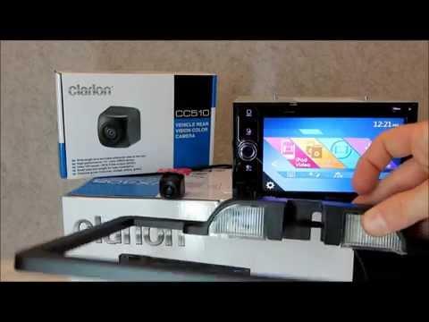 Clarion CC510 & CAU001 Rear View Camera Interactive Demo Review