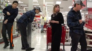 FARTING AT TARGET with The Pooter - New Fart Prank!