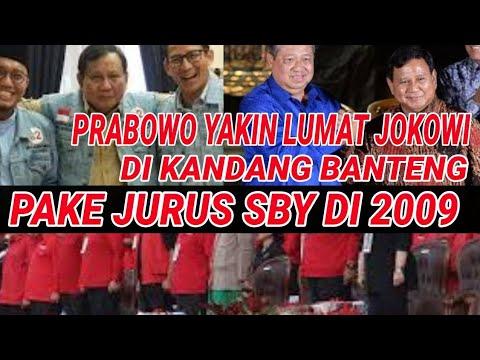 HNCURKN JOKOWI DI JATENG, PRABOWO TIRU CARA SBY DI 2009;MEGAWATI KALAH;PILPRES 2019;JOKOWI MA'RUF