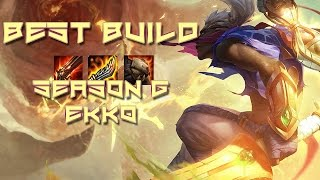 Best Season 6 Ekko Builds - League of Legends