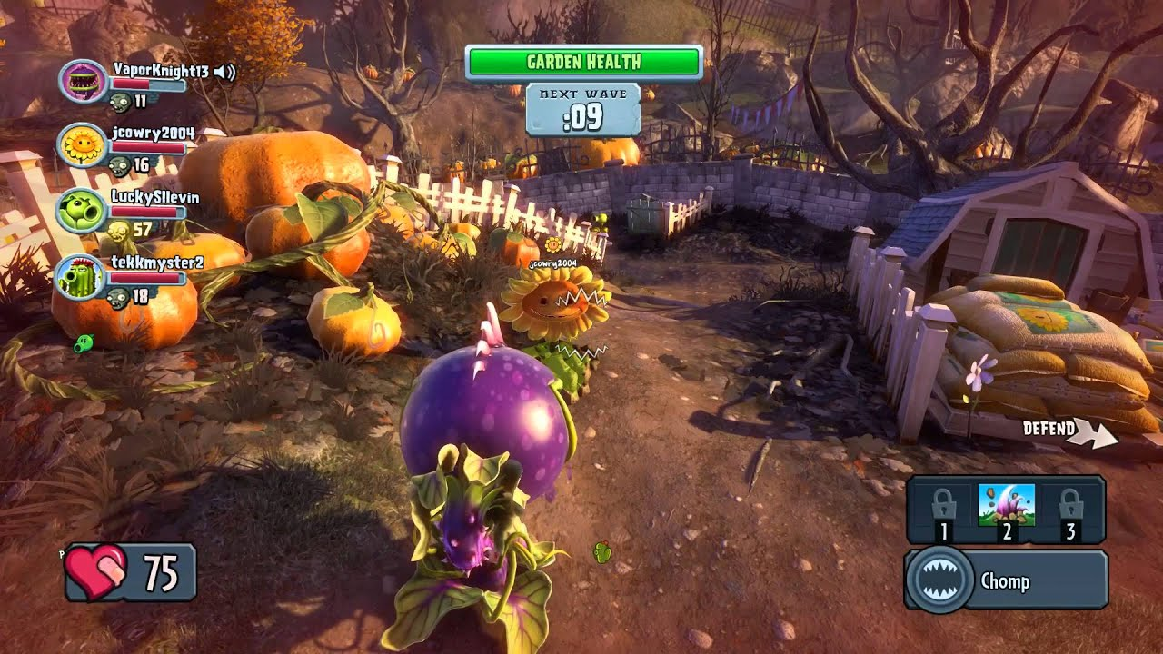 Plants Vs Zombies Garden Warfare 1 Its On Pc At Last Basics Gameplay Youtube