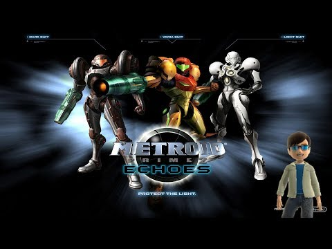 Metroid Prime 2 Stream! Part 1