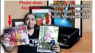 Cara mencetak photo agar hasilnya tidak menjadi Pudar