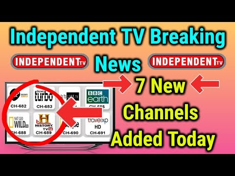 Good News For Independent TV Users | 6 New Channels Added Today | 23 May Latest Update