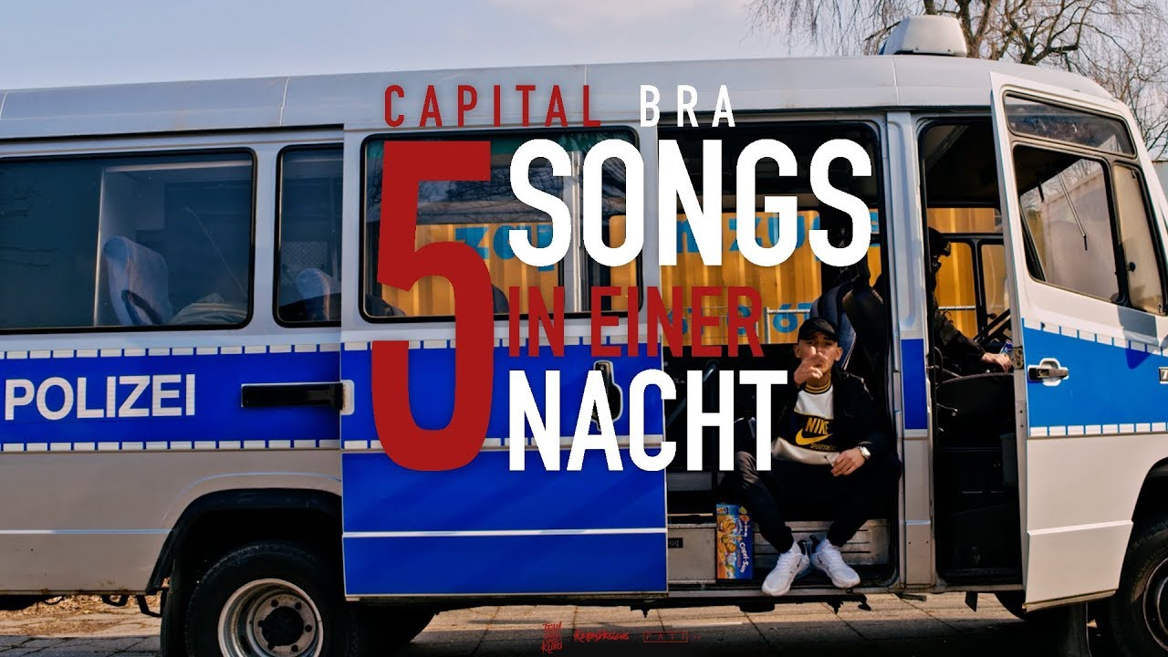 Capital Bra 5 Songs In Einer Nacht Prod The Cratez Youtube