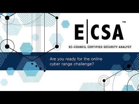 EC-Council Certified Security Analyst (ECSA)