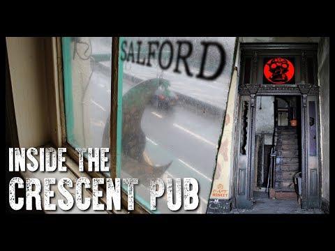 Bygone Pubs - The Crescent Salford - Manchester - Urbex  UK