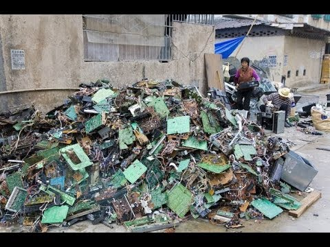 China's Toxic Component Recycling Poses Serious Health Risk