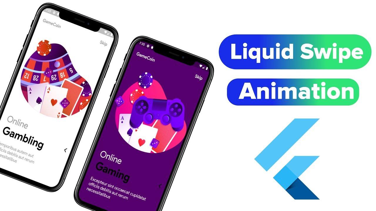 How to Create Liquid Swipe Animation in Flutter | Liquid Swipe Flutter