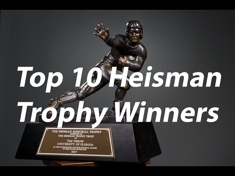 Top 10 Heisman Trophy Winners