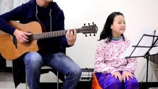 木吉他演奏+Voice-李聖傑 古老的大鐘  (Voice 紓瑄)