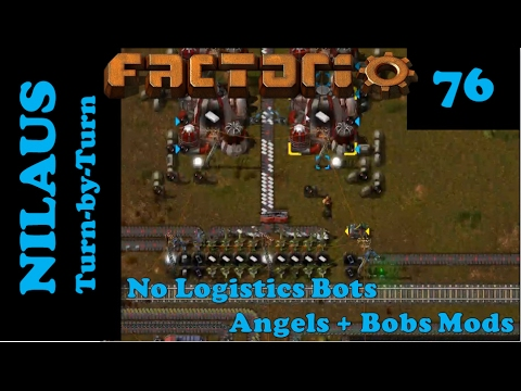 Factorio S6E76 - Angels Petrochemical Plastic from Formaldehyde and Phenol
