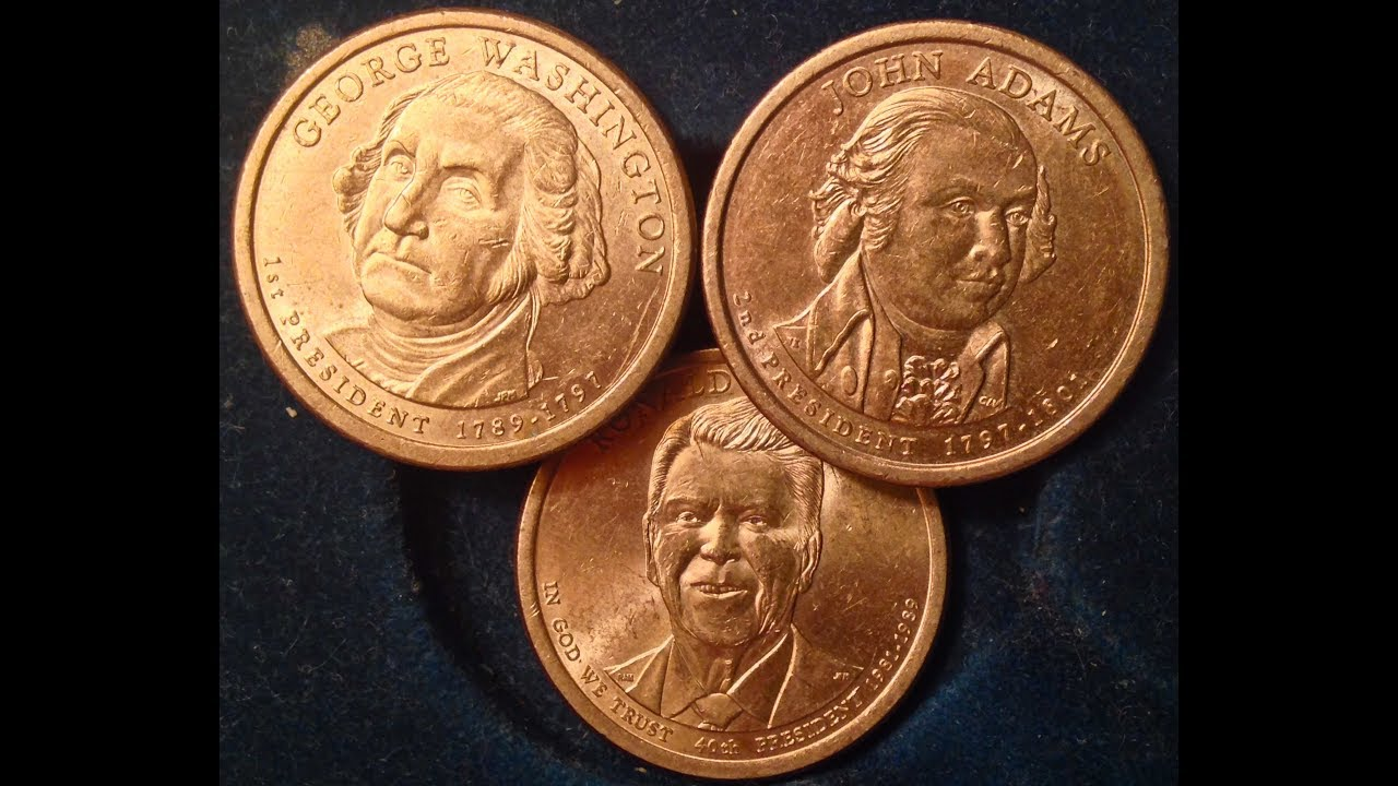 "2008~PRESIDENT DOLLARS /""P or D/"" MINT~~25 COIN~~ROLL~~ANY OF 4 PRESIDENTS OF 2008"