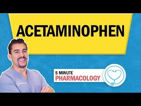 pharmacology---tylenol,-acetaminophen-antipyretic---nursing-rn-pn