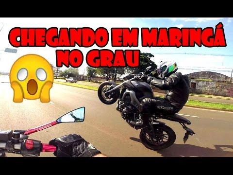 GRAU DE MT09   CHEGANDO EM MARINGÁ ARREPIANDO   MAIKI021 XOXOTA6