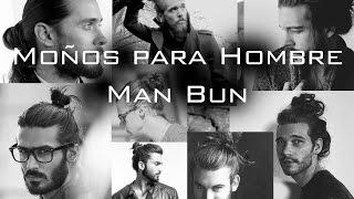 Moño para hombre / Man bun Men's Long Hairstyle / Chongo / Jared Leto - Harry Styles