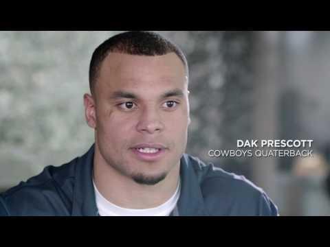 Jerry Rice Interviews Dak Prescott; Dallas Cowboys