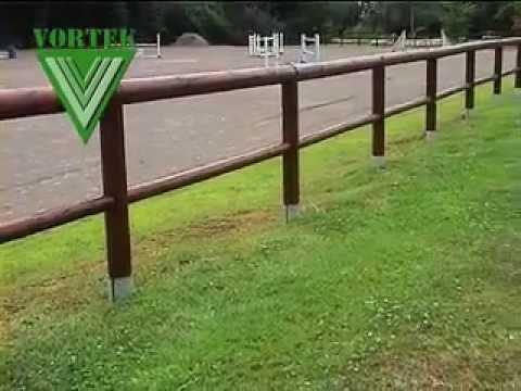 Vortek supporti per pali da recinzione doovi for Vortek recinzioni