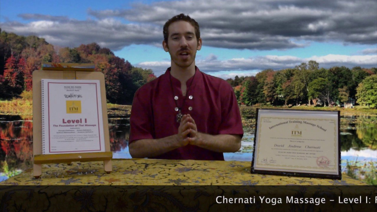 Level I: Foundations of Nuad Thai Massage