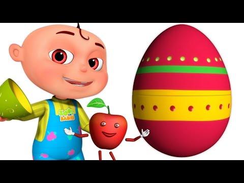 Five Little Babies Fruit Song | Surprise Eggs | Zool Babies Fun Songs