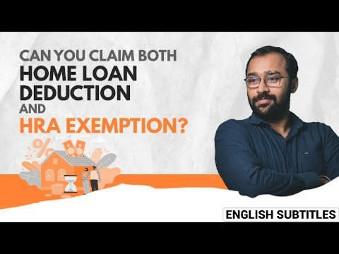 HRA Exemption + Home Loan Deduction, Both together possible? #Shorts