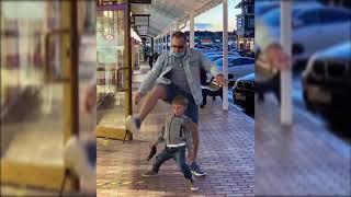 Владимир Пресняков устроил танцы с 5-летним сыном