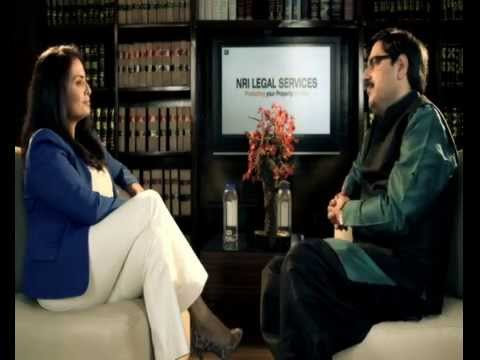 Nidhi Singh lawyer with NRI Legal Services, conversation on protecting land/property in India